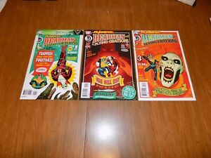 set 3 FLASHPOINT DEADMAN /& the FLYING GRAYSONS #1 2 3 nightwing DC COMIC lot