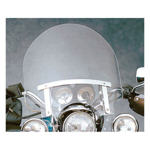 N-C-Dakota-Windshield-20-5-034-klar-f-Harley-Davidson-m-Narrow-Glide-Lightbar