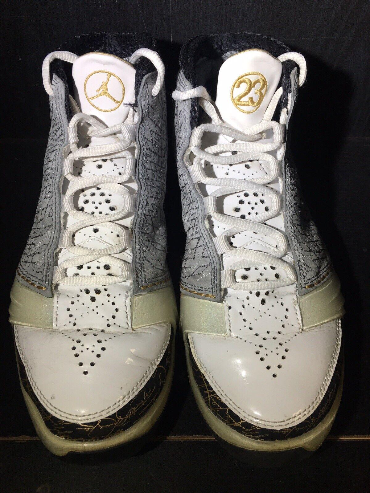Air Jordan 23 White Stealth Size 7.5