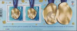 CANADA-2010-Souvenir-Sheet-2371-Canada-Strikes-Gold