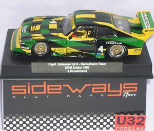 Intellective Racer Sideways Sw60 Ford Capri Gr.5 Zakspeed #4 Drm Zolder 1981 J.hamelmann Team Spielzeug Kinderrennbahnen