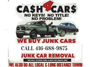 CALL 416-688-9875 We pay cash for SCRAP CARS AND USED CARS $200-5000 Toronto (GTA) Preview