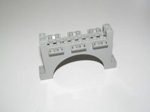 Lego ® Château Chevalier Grande Arch Arcade vieux gris clair 2 x12x6 ref 30272