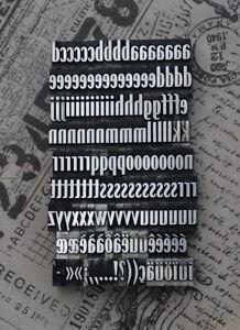 Alphabet-Bleilettern-Letter-Druckbuchstaben-Lettern-Vintage-Stempel-Bleiletter