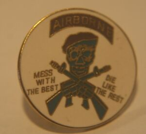 DI-Crest-hat-lapel-Pin-Airborne-mess-with-the-best-die-like-the-rest