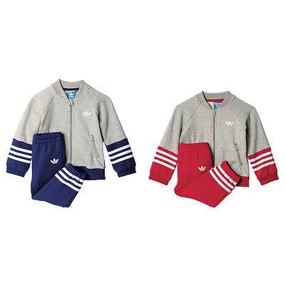 adidas Originals Kinder Fleece Superstar Anzug Baumwolle S95967 S95968