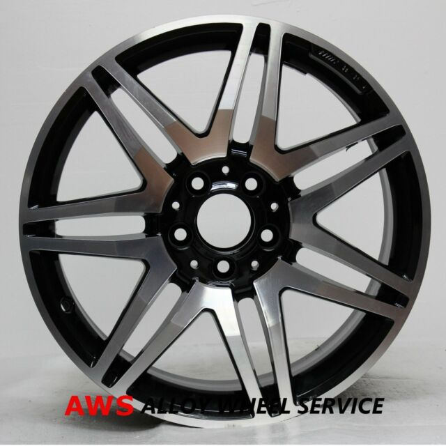 OEM Factory AMG Mercedes-Benz C250 C300 C350 Black 18 Rear