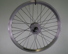 20 Zoll Laufrad Vorderrad Shimano Dynamo DH3N31  NEU Hohlkammerfelge silber