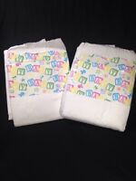 Bambino Classico Adult Diaper Plastic Abdl Super Thick Nappy 2 Pack Sample