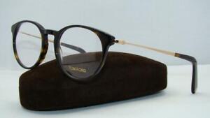 650d443a49 TOM FORD TF 5383 052 Dark Havana   Gold Glasses Frames Eyeglasses ...