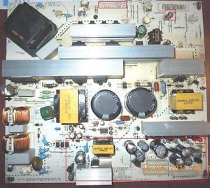 Repair-Kit-LG-42LC7D-UB-PCB-PN-EAX37617801-LCD-TV-Capacitors-not-entire-board