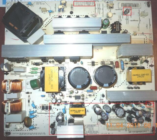 Repair Kit LG 42lc7d-ub PCB PN Eax37617801 LCD TV Capacitors Not Entire  Board