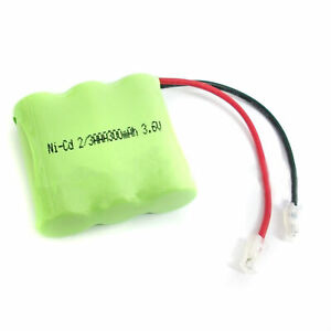 Ni-CD-2-3-AAA-3-6V-300mAh-Rechargeable-Battery-Pack-Cell-404-For-Phone-1PCS