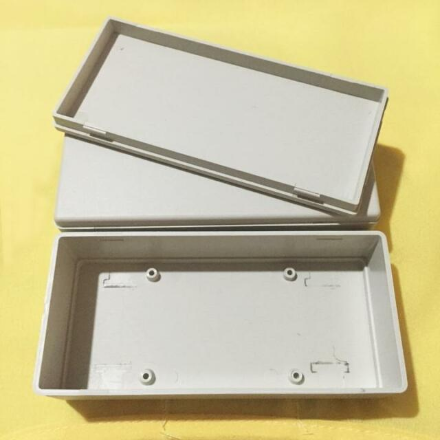 Durable 2x Plastic Project Box Enclosure Case Electronic DIY Instrument Case