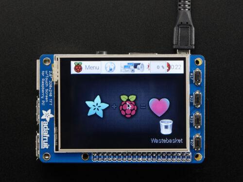 "320x240 2.8/"" TFT 2298 Adafruit pitft Plus Touchscreen Per Raspberry Pi 2//3"