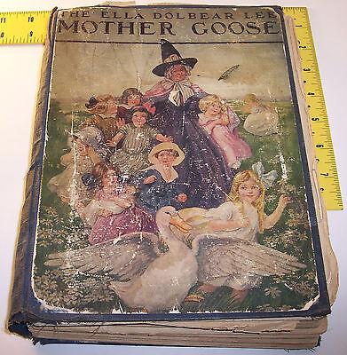vintage ~ Mother Goose book ~ The Ella Dolbear Lee