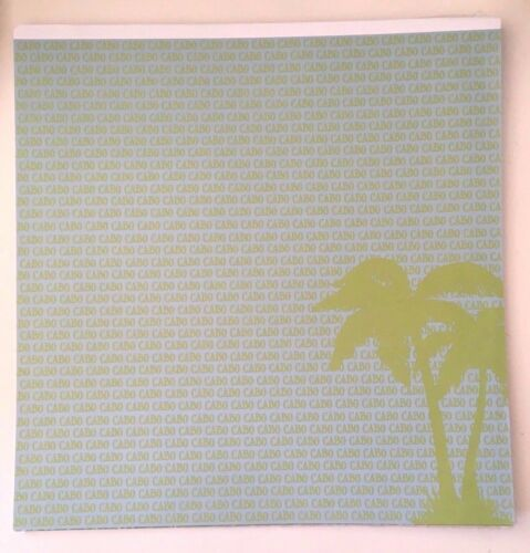 2 Sheets Cabo 12x12 Scrapbook Paper San Lucas Mexico 2 Sided PSP-013 Beach