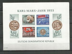 DDR-postfrisch-Marx-Block-9B-YI-tiefst-geprueft-Schoenherr-160