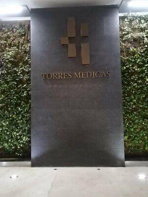 EXCELENTE CONSULTORIO EN TORRES MEDICAS