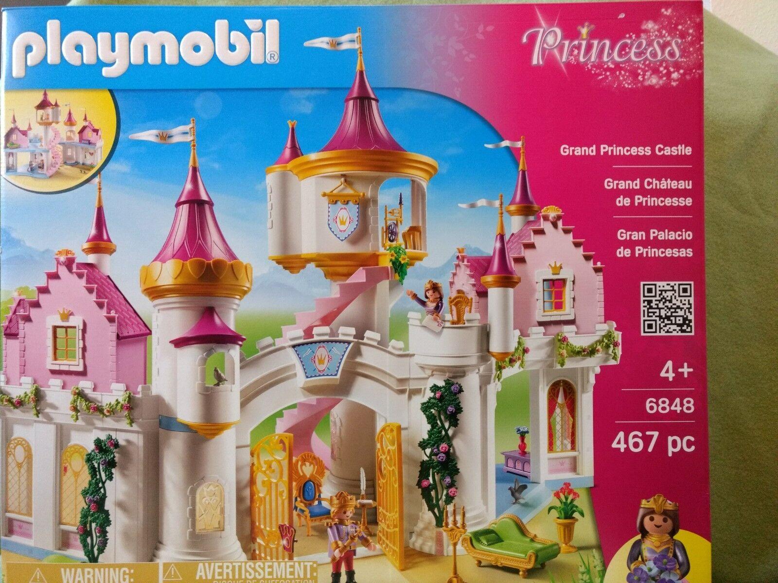 PLAYMOBIL (6848) Prinzessinnenschloss neu ungeöffnet OVP