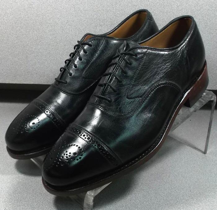 240941 ES50 Zapatos para hombre M Negro Cuero 1850 Colección Johnston & Murphy