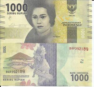 INDONESIA-1000-RUPIAS-2016-LOTE-DE-5-BILLETES