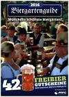 Biergartenguide 2016 von Markus Birk und Thomas Hartmann (2016, Gebundene Ausgabe)