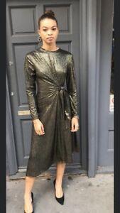 Gold-Glitter-Dress-Size-10