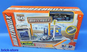 Matchbox - Abenteuer  Y6095   Spielsatz klein   Polizei  - Hauptguartier