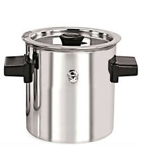 2 Litres Milk Boiler Stainless Steel Cookware Milk Cooker with Boil S.S. Whistle