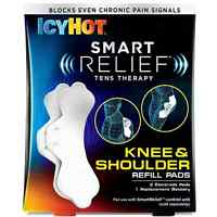 Icy Hot Smart Relief Tens Therapy Knee - Shoulder Refill Pads Kit 1 Ea (4 Pack) on sale