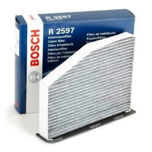 Bosch-Filtro-De-Cabina-Polen-Carbono-R2597-AUDI-A3-Q3-TT-1-8-2-0-3-2-Seat-Skoda-VW