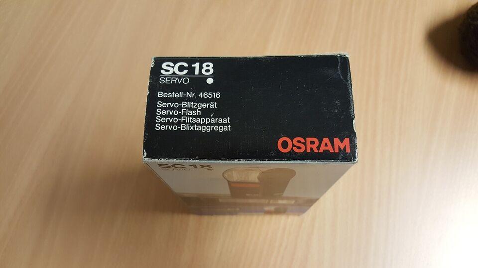 osram, SC 18 SERVO, Perfekt
