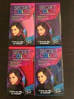 Secret Color Headband Hair Extensions- Pink, Blue, Red, Purple As Seen On Tv
