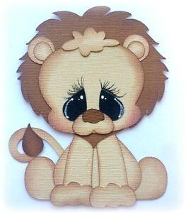 BABY-LION-PREMADE-PAPER-PIECING-DIE-CUT-BY-MY-TEAR-BEARS-KIRA