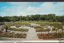 Lancashire Postcard - Rose Gardens, Stanley Park, Blackpool   RT220