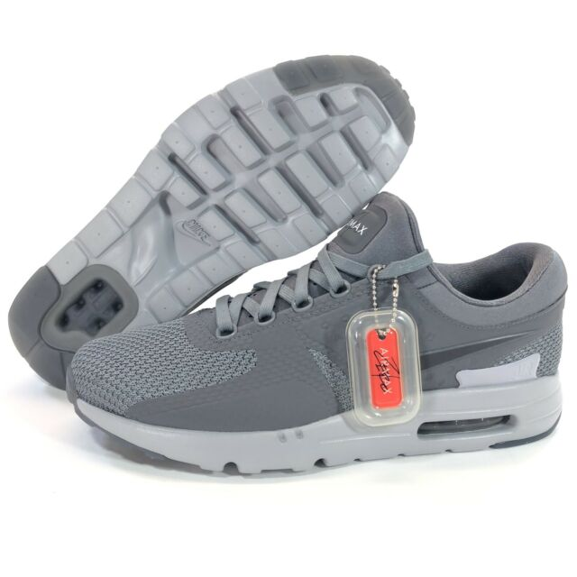 Nike Air Max Zero QS Mens Size 12 Running Shoes Cool GreyWolf Gray 789695 003