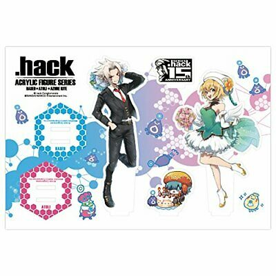 *.Hack series 15th anniversary acrylic Figure Series all three Haseo /& Atri ver