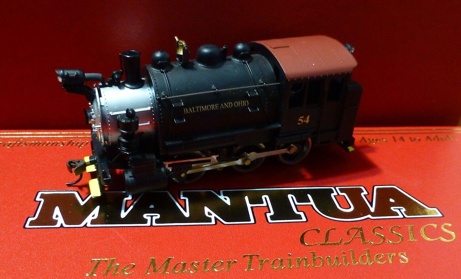 Mantua Ho   393002 Baltimore & Ohio 0-6-0 Tanque Switcher