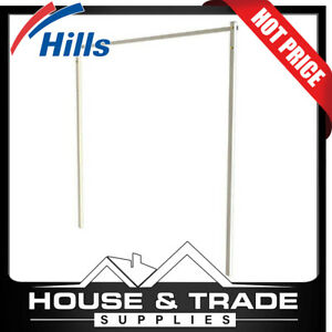 Hills Post Kit Folding Frame Clothesline Pebble Beach Colour FD45607