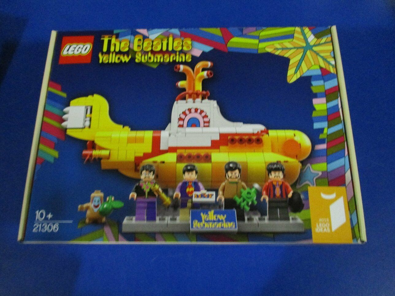Lego 21306 ideas the beatles amarillo Submarine nuevo embalaje original