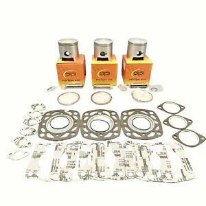 67-75mm-Std-Alesage-SPI-Pistons-Haut-Fin-Joints-1990-1992-Polaris-Rxl-SKS-Triple