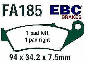 HONDA XLR 250 Baja MK2 R3 MD22 Front Disc Brake Pads EBC FA185TT