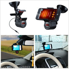 Practical 360° Rotation Vehicle Mobile Phone Handfree MP3 Mount Holder For Honda