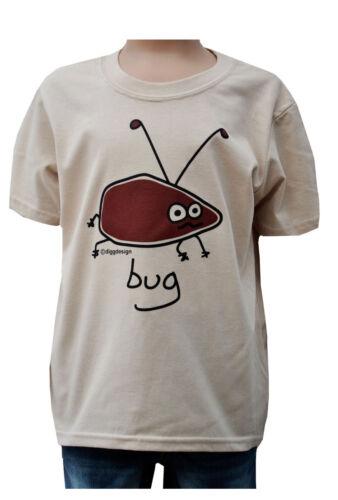 SHIRT Kids Buzzy Bug/' /' SABBIA T 3-4 fino a 9-11y