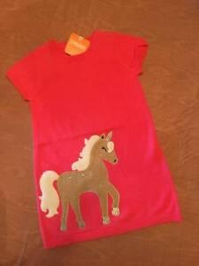 ef1a2b2e8fe1 Image is loading NWT-Gymboree-Unicorn-University-Coral-Pink-Sweater-Dress-