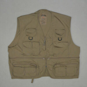 42d30f390630a Image is loading Master-Sportsman-Unisex-Hunting-Fishing-Vest-Zipper-Front-