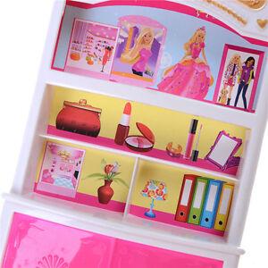 Gut Kunststoff Schlafzimmer Möbel Kleiderschrank Für Barbie ...