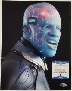 JAMIE-FOXX-Signed-SPIDER-MAN-11x14-Photo-Electro-Autograph-BAS-Beckett-COA