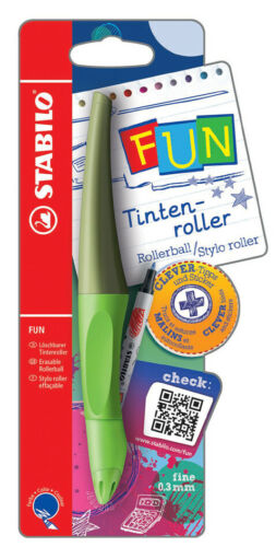 STABILO Tintenroller FUN limettengrün//khaki
